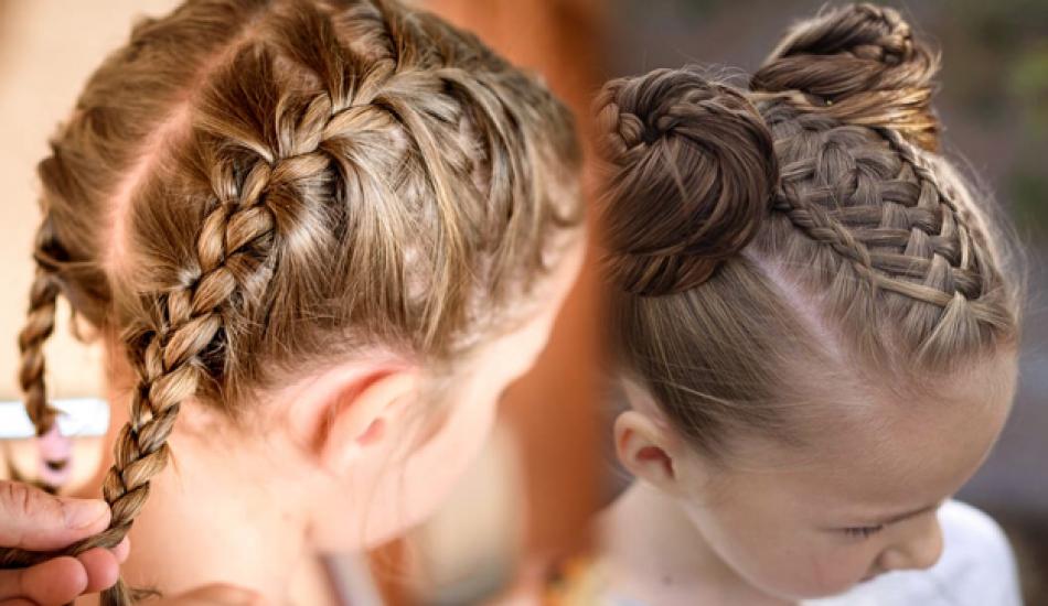 çocuk Saç örgüleri