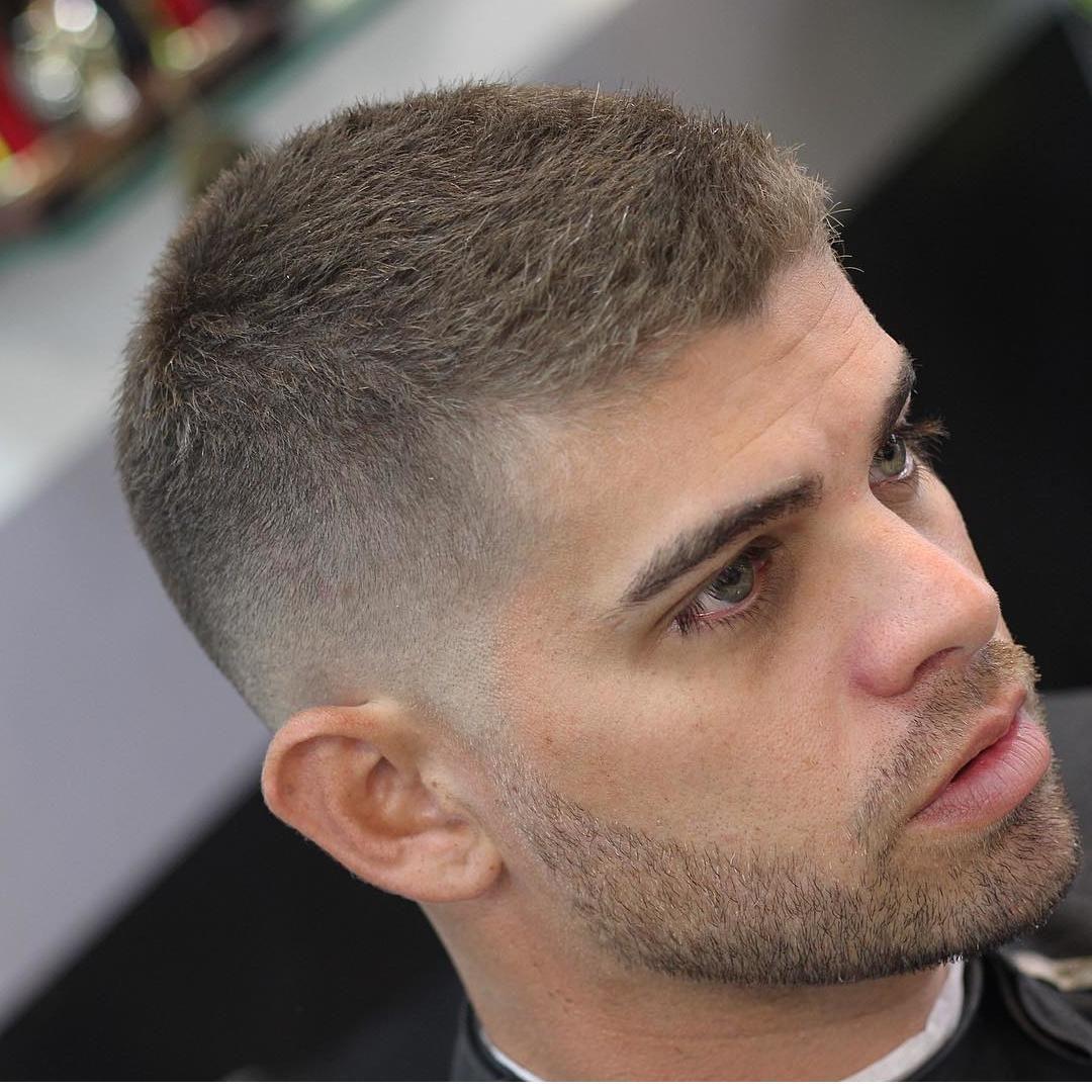 çok Kısa Saç Modelleri Erkek