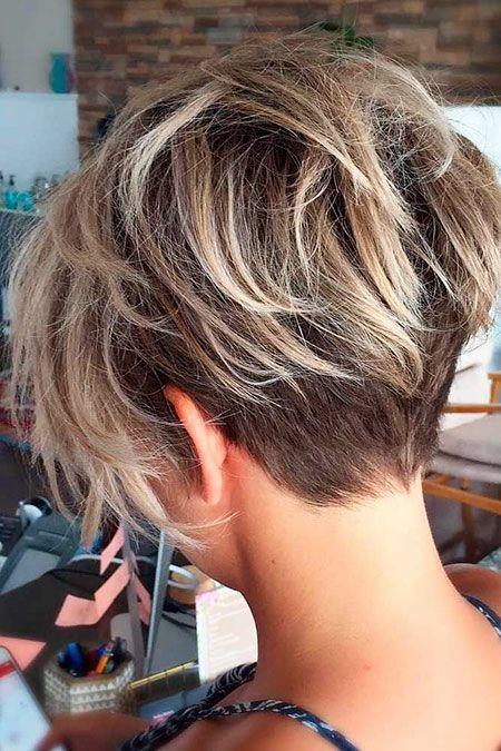 önü Uzun Arkası Kısa Saç Modelleri Bayan