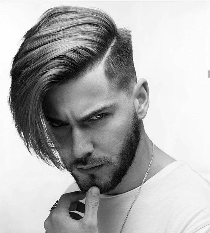ön Uzun Arka Kısa Saç Modelleri Erkek