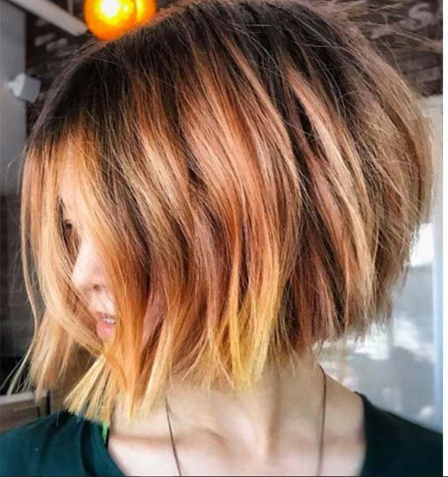 2018 Kısa Saç Modelleri Kadın