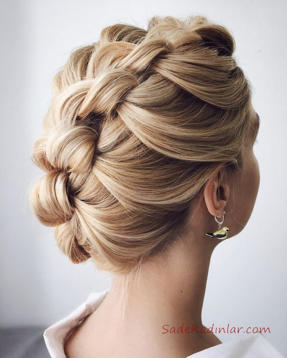 2019 Saç Modelleri Topuz