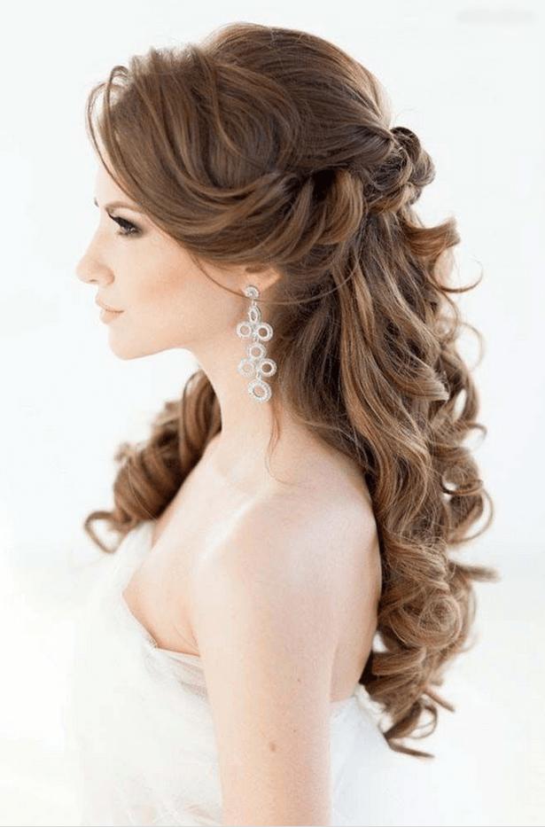 Açık Düğün Saç Modelleri