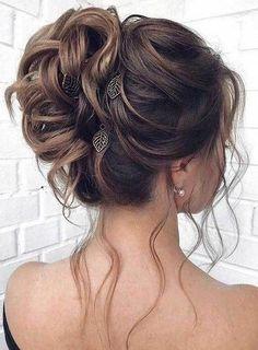 Abiye Elbise Saç Modelleri