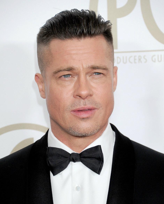 Brad Pitt Saç Modelleri