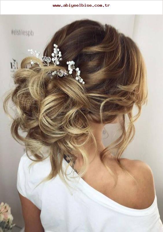 Düğün Topuz Saç Modelleri