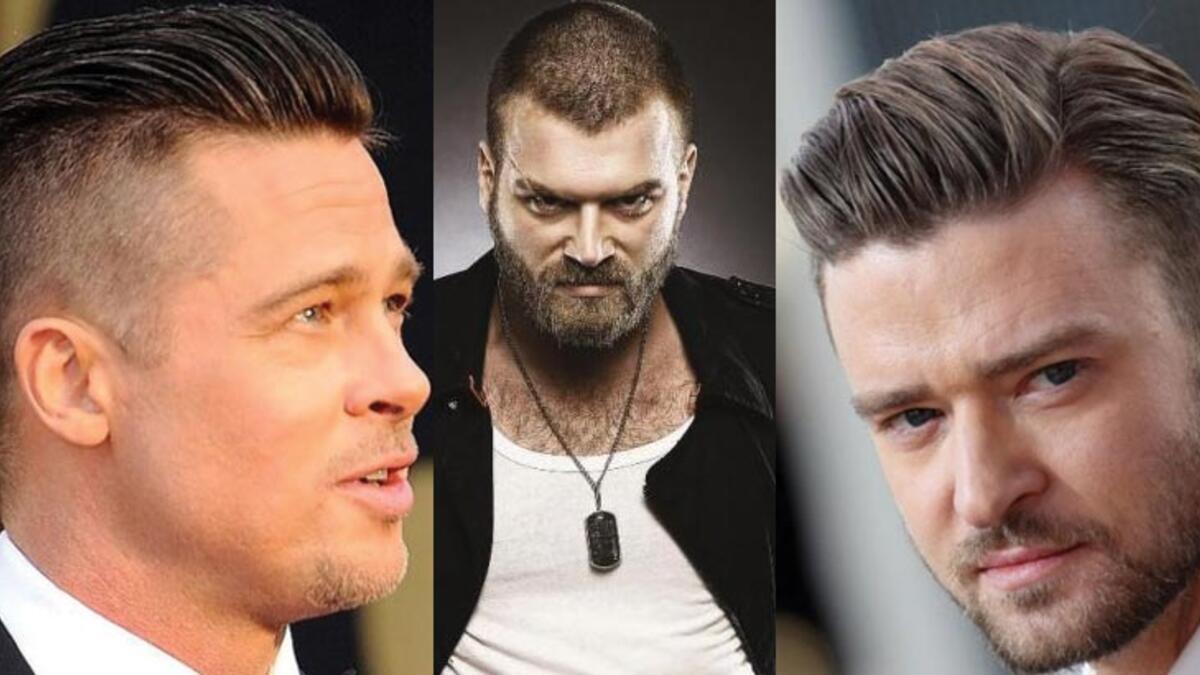Dalgalı Kısa Saç Modelleri Erkek