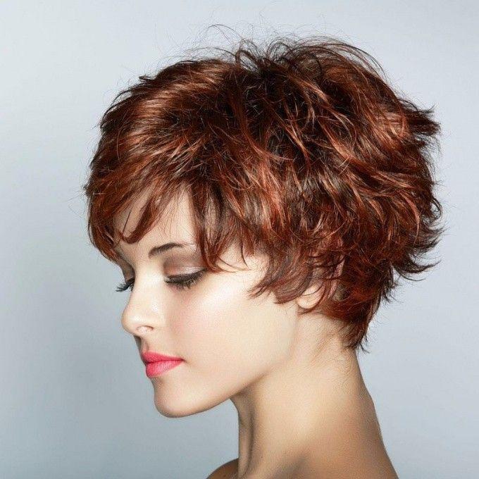 Dalgalı Saçlar Için Kısa Saç Modelleri