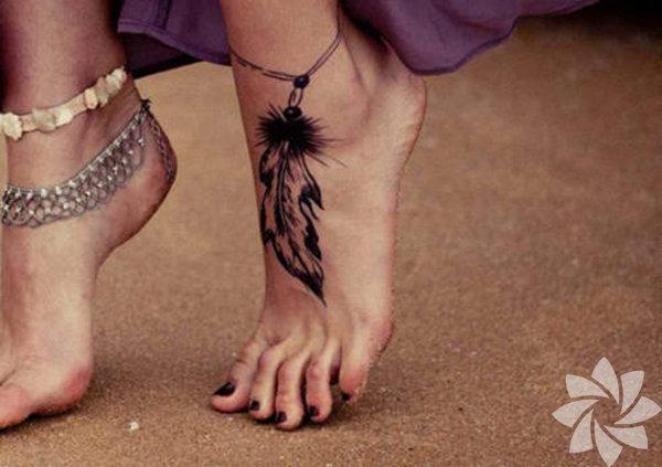 En Güzel Ayak Dövmeleri