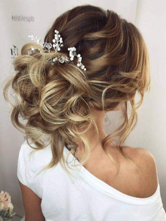 En Güzel Düğün Saç Modelleri