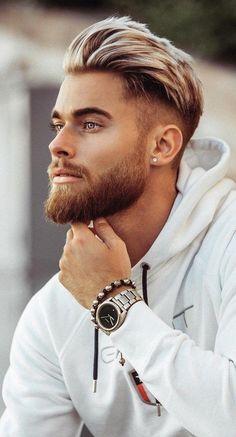 Erkek Beyaz Saç Modelleri