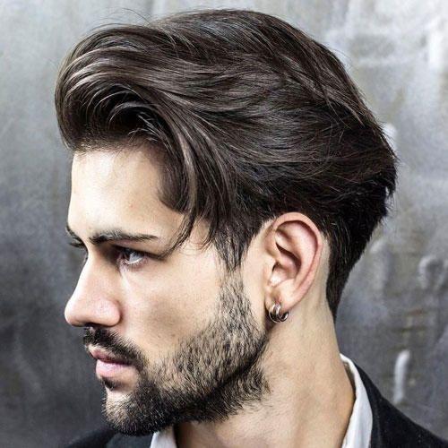 Erkek Uzun Saç Kesimi