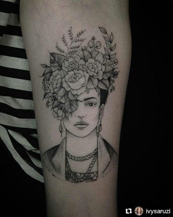 Frida Kahlo Dövmesi
