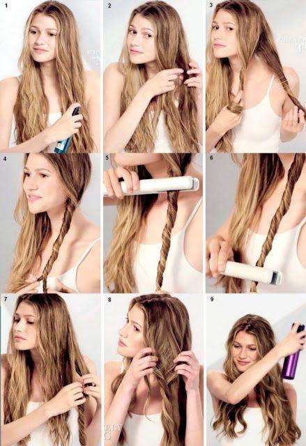 Günlük Dalgalı Saç Modelleri