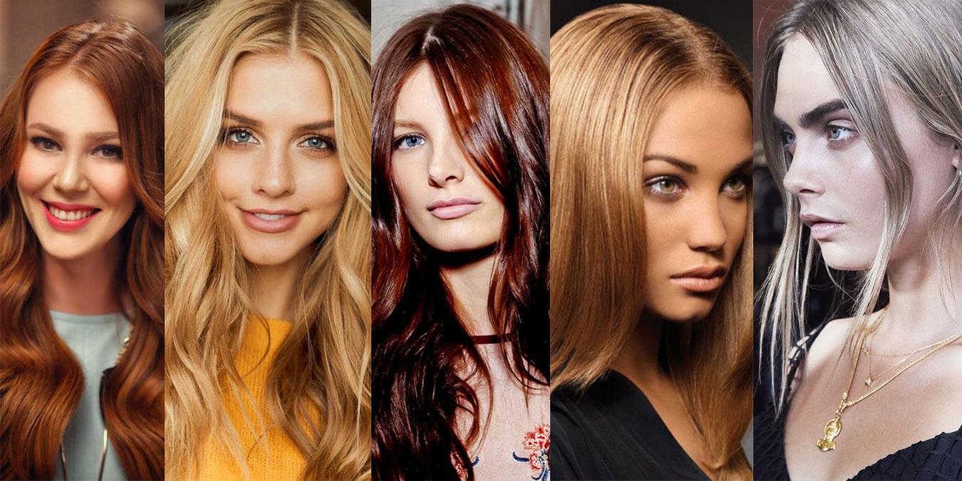 Güzel Saç Renkleri