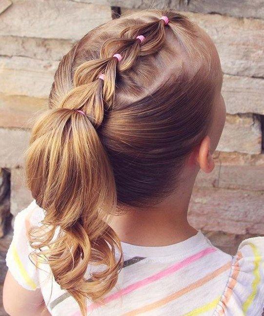 Küçük Kızlar Için Saç Modelleri