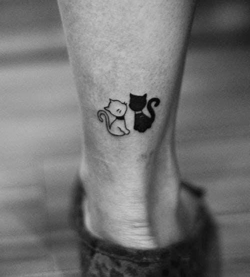 Küçük Kedi Dövmeleri