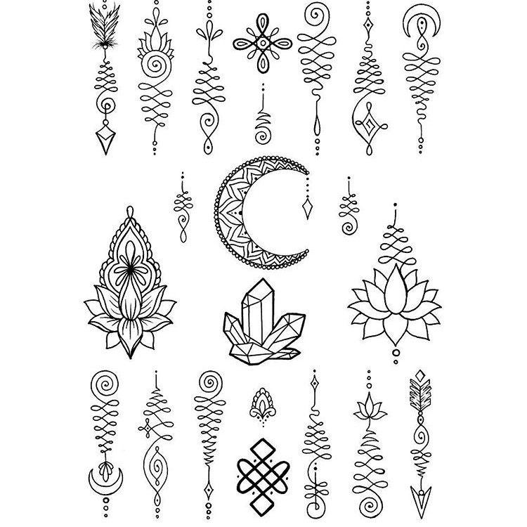 Küçük Mandala Dövmeleri