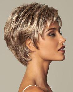 Kısa Bayan Saç Modelleri