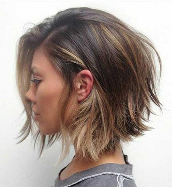 Kısa Katlı Saç Modeli