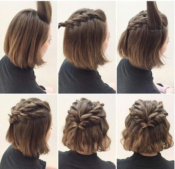 Kısa Saç Modelleri Kız