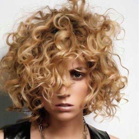 Kısa Saç Perma Modelleri