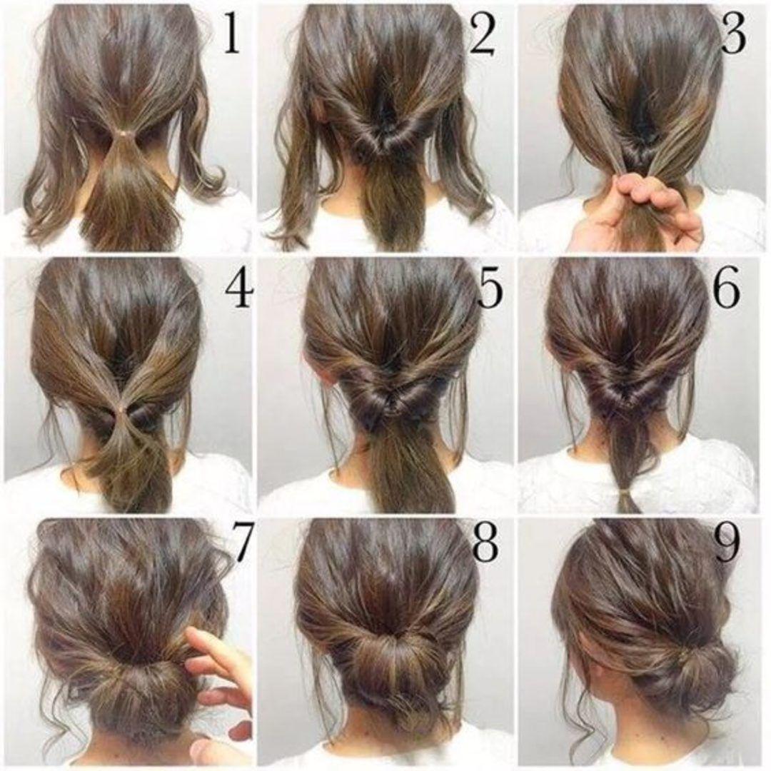 Kısa Saç Yapım Modelleri