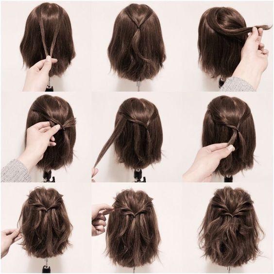 Kısa Saçlar Için