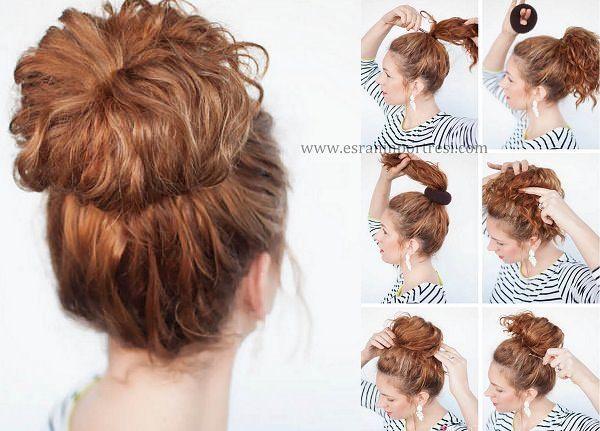 Kıvırcık Saçlar Için Saç Modelleri