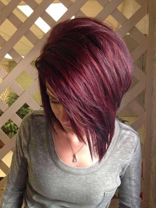 Kızıl Kısa Saç