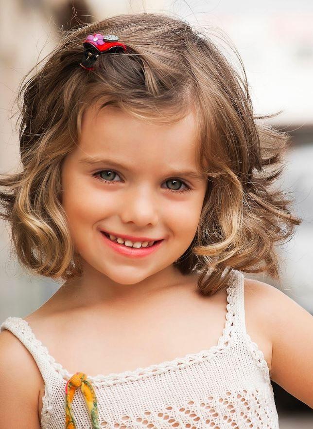 Kız çocuk Kısa Saç Modelleri