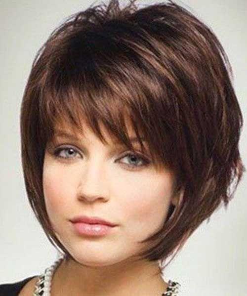 Kabarık Kısa Saç Modelleri
