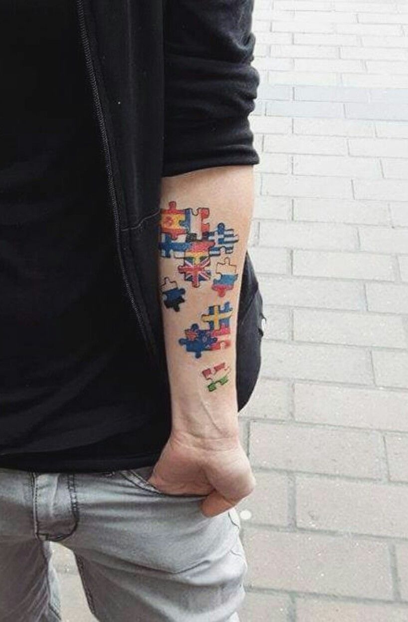 Puzzle Dövmesi