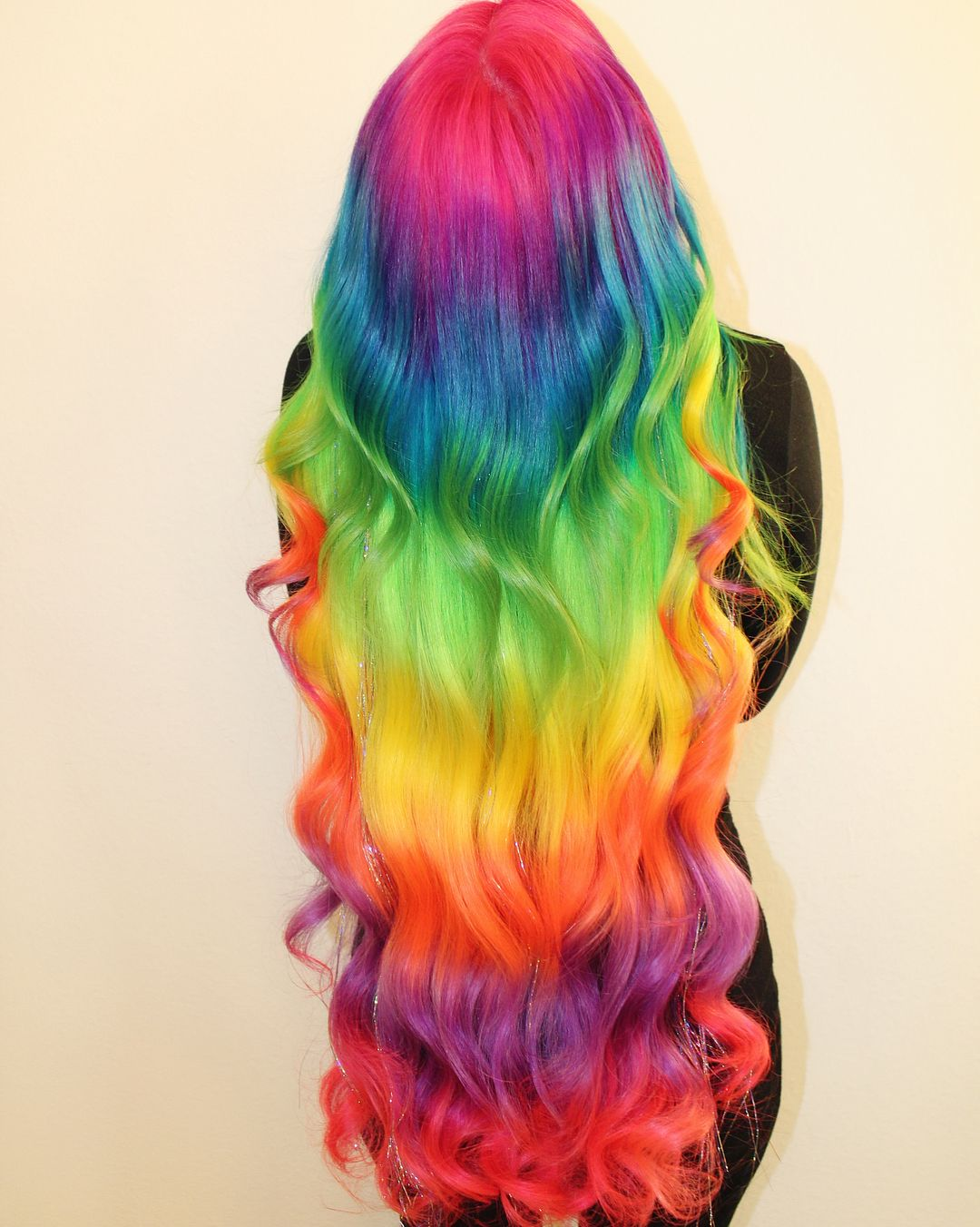 Rengarenk Saç Modelleri