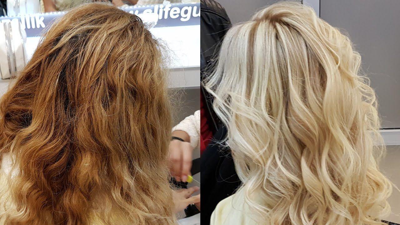 Sarı Röfle Saç Modelleri