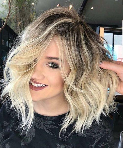 Sarı Saç Modelleri 2018