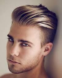 Sarı Saç Modelleri Erkek