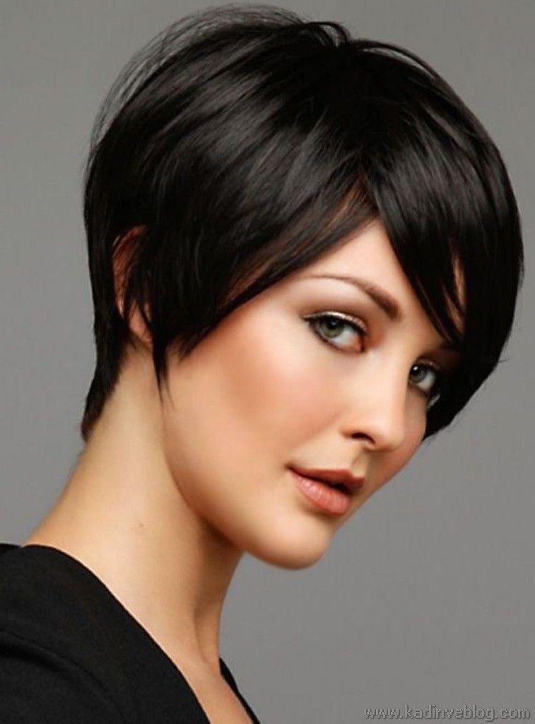Siyah Kısa Saç Modelleri