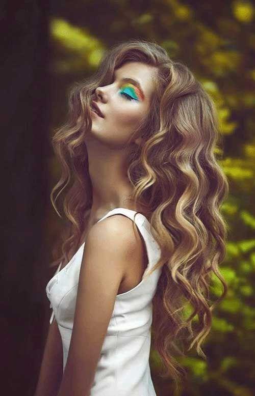 Su Dalgası Saç Modelleri 2018