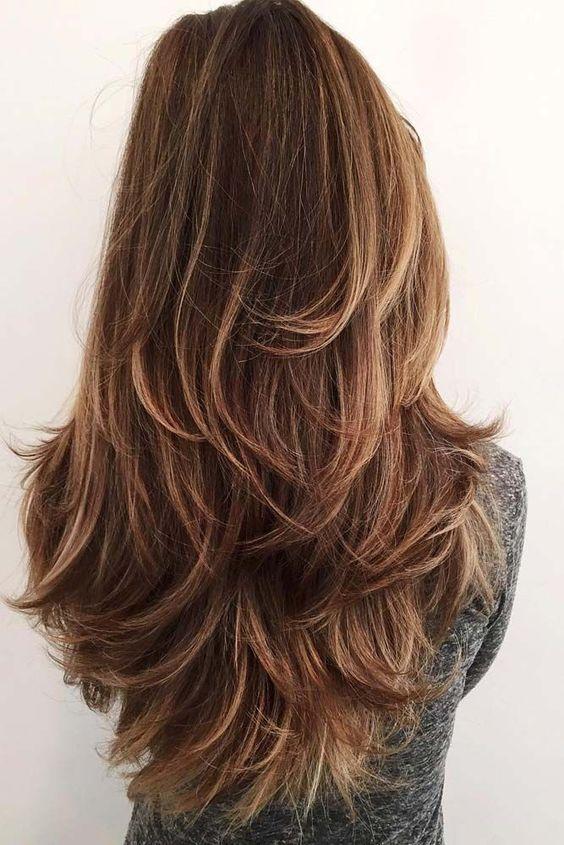 Uzun Saç Kesim Modelleri 2019
