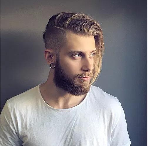 Uzun Saç Modeli Erkek