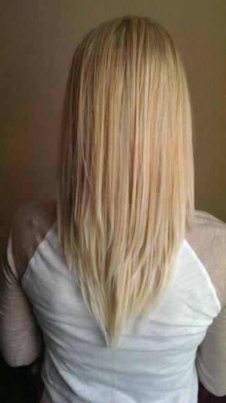 V Kesim Saç Modelleri