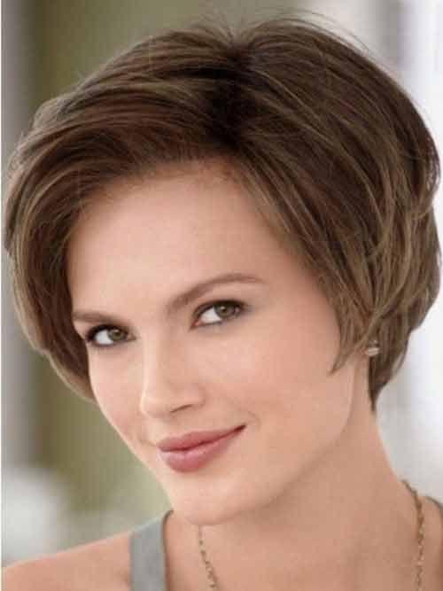 Yuvarlak Saç Modelleri
