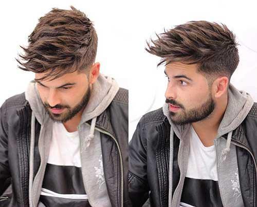 Yuvarlak Yüz Saç Modelleri Erkek